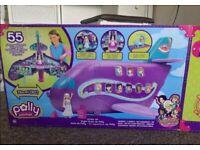 Mattel polly pocket jumbo jet NEW