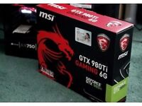MSI GeForce GTX 980TI GAMING 6G OC Edition