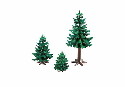 Playmobil Christmas series brand new 3 pine trees in package 7725 toy 187
