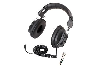 DELUXE METAL DETECTOR HEADPHONES VOLUME CONTROL BOUNTY HUNTER AUDIO MUSIC INPUT
