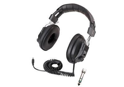 DELUXE METAL DETECTOR HEADPHONES VOLUME CONTROL BOUNTY HUNTER AUDIO MUSIC INPUT
