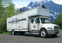 SHALOM MOVERS - Moving and Storage  780 708 6000