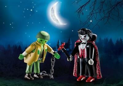 Playmobil 9307 Vampire & Zombie Monster Halloween   NEW