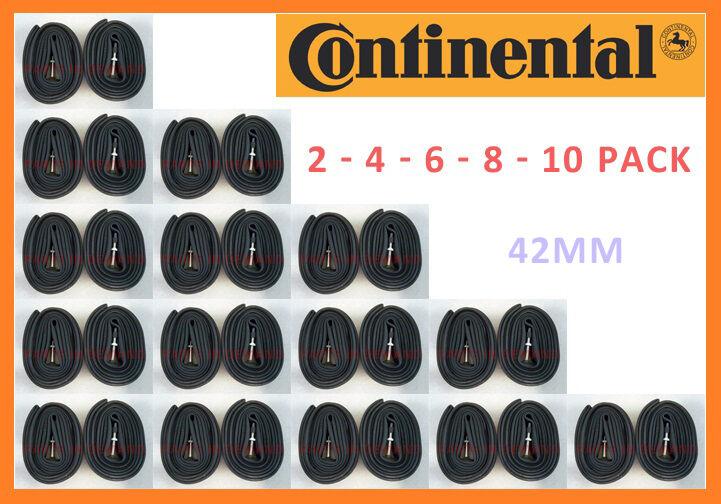 Presta Valve PV 60mm 4 Pack Continental Race 28 Bike Inner Tubes 700 X 25-32