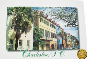 Charleston South Carolina Postcard Queen Street New