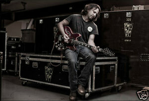 EDDIE VEDDER / Pearl Jam  * QUALITY CANVAS  PRINT