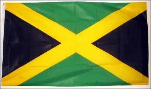 JAMAICA FLAG 3X2 Caribbean West Indies KINGSTON flags
