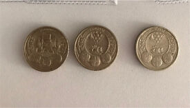 Collectable country £1 coins Cardiff Belfast Belfast