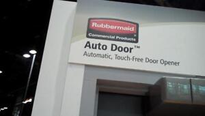 Rubbermaid Auto Door - Automatic Touch-Free Door Opener Kit - Brand New - Only $499!