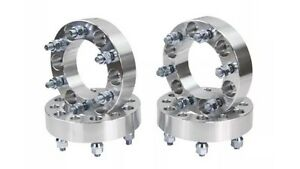 Set of 4 32mm 6x139.7 Wheel Spacers Adapters 32mm 12x1.5 Studs 108mm Mortlake Canada Bay Area Preview
