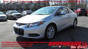 2012 Honda Civic Cpe EX-LVERY PARTICULAR PREVIOUS OWNER