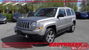 2016 Jeep Patriot High AltitudeLEATHER-FACED BUCKET SEATS