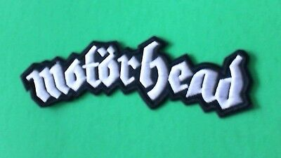 Lot of 3 Motorhead Iron On Patches! Brand New Lemmy Heavy Metal Punk Rock