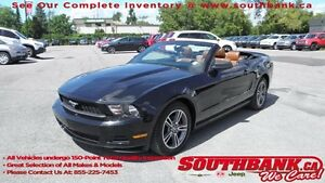 2010 Ford Mustang V6CONVERTIBLE,BROWN LEATHER,BLUETOOTH