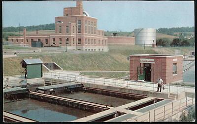 York Pa Sewage Treatment Works Codorus Creek Plant Vintage Postcard Old Penna Pc