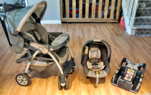Chicco keyfit30 stroller, car seat & base for baby / toddler