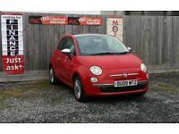 Fiat 500 1.2 LOUNGE 2009 **£30 Road Tax**