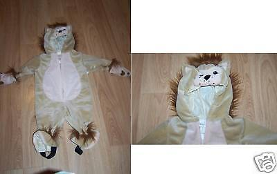 Infant Baby Size 6-9 Months Cowardly Lion Halloween Costume Jumpsuit New (Infant Costumes 6 9 Months)