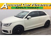 Audi A1 1.4 ( 122ps ) Tronic 2011MY S Line FROM £57 PER WEEK.
