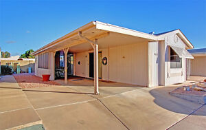 55+ Gated Community Park model home 1 Bed located in Mesa
