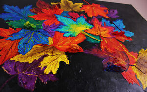 """Autumn's Cloak"" - New Original 3D Painting Stratford Kitchener Area image 4"