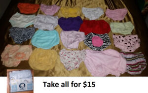 Size 0-12 Months Baby Diaper Covers Lot (Take all for $15)