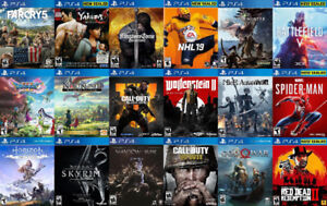 PS4 Games For Sale or Trade - Yakuza, RDR, Farcry 5, NHL 19,more