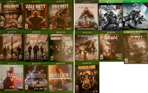 XBOX One Shooter Games (Various Prices) `