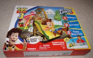 COFFRET CASCADES TOY STORY 3 ACTION LINKS DISNEY PIXAR
