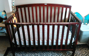 Alright condition crib with mattress