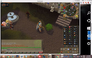 Runescape 2007 and RS3 main account-cheap-contact me