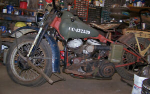 wanted 45 harley flathead parts