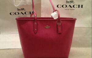 Brand new authentic Coach bag, City zip tote