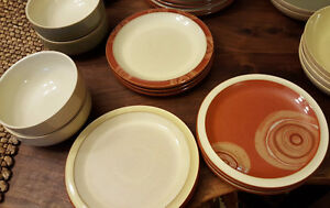 Denby (made in UK) Fire collection dining ware Kitchener / Waterloo Kitchener Area image 2