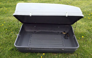 PERFECT Roof Top Car Cargo Box SEE VIDEO