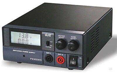 QJE PS30SWIV Switching Power Supply PSU Ham CB Radio Maas SPS 30