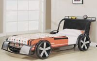 LORD SELKIRK FURNITURE - RV8 CAR BED FOR KIDS - $299