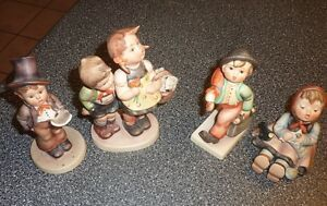 Hummel figurines (some antique, some newer)