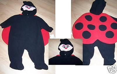 Baby Infant Size 3-6 Months Ladybug Lady Bug Halloween Costume New Little Wonder