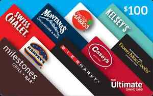Cash Equivalence Gift Cards