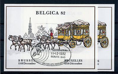 BELGIEN BL 53 ESST BELGICA POSTKUTSCHE ME 11 130652