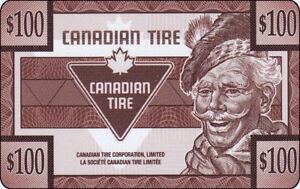 Canadian Tire Gift Card For Sell $50.00 Off Total Value $500