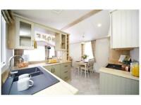 New 2 bedroom home, 12 month season park, free golf & leisure included