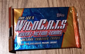Jim Lee's Wild C.A.T.S 8 Deluxe Trading Cards
