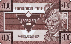 Canadian Tire Gift Cards For Sale $40.00 Off Total Value $400.00