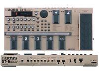 GT-6 Guitar Effects Processor