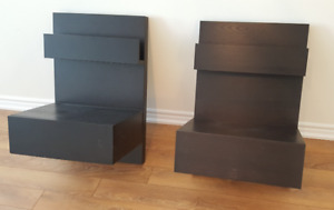 Ikea MALM Side Tables - Pair!
