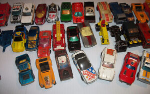 Vintage Matchbox Car and Trucks Toy Collection