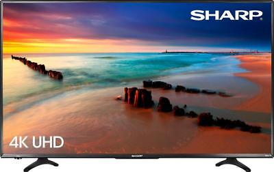 "Sharp - 43"" Class - LED - 2160p - Smart - 4K UHD TV with HDR Roku TV"