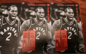 Raptor's Tickets - Xmas Gifts !